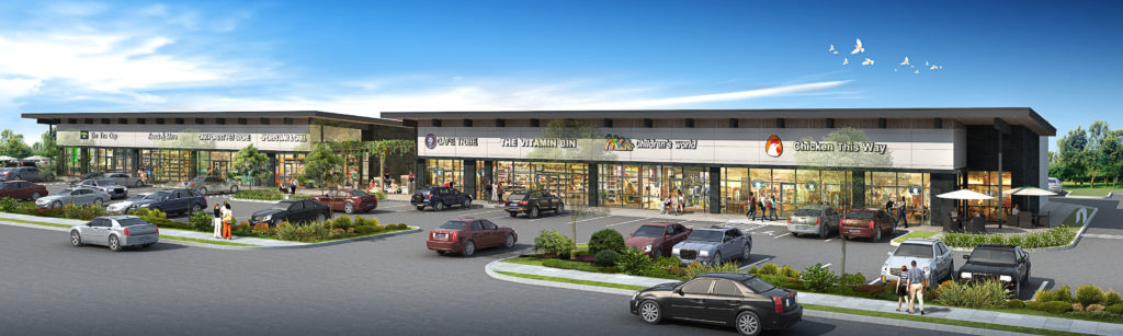 New retail center for Garden Oaks