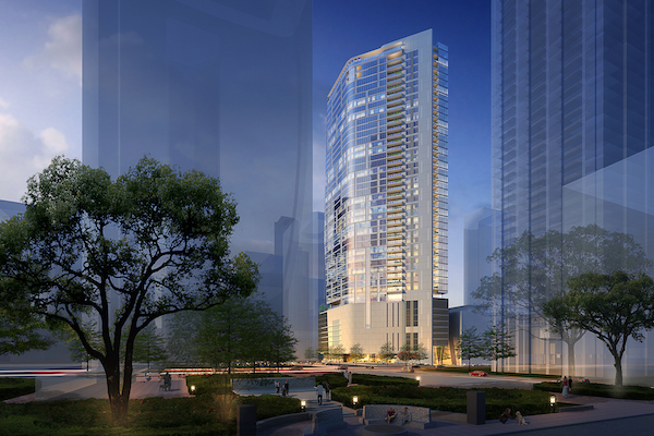 Sky high luxury living in downtown Houston