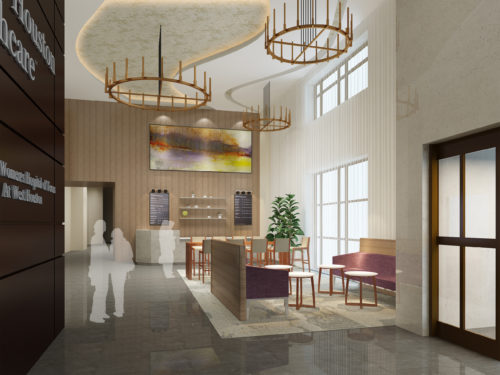 Interiors for health - Prism Renderings