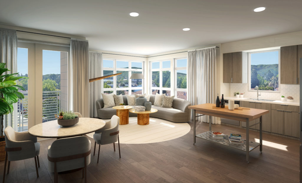 First mixed-use development in Silicon Valley suburb